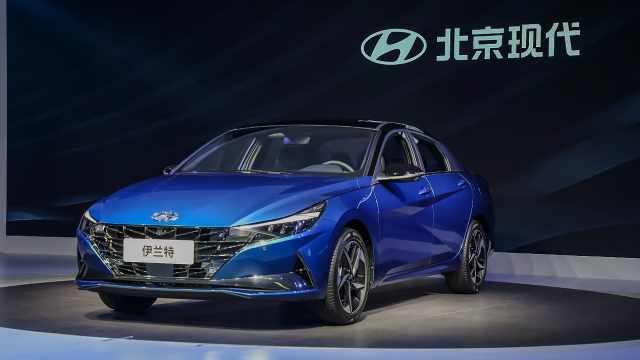 北京现代发力,多款新车亮相北京车展