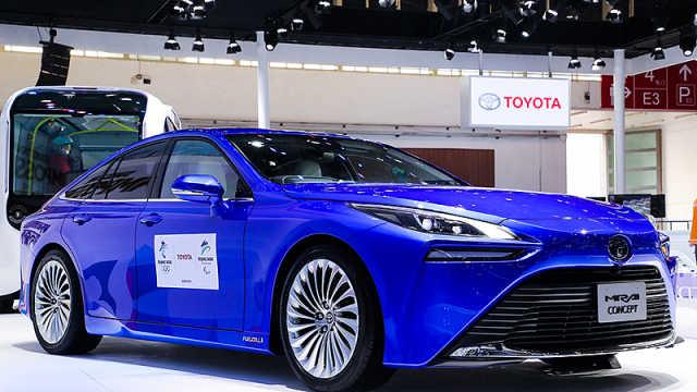 丰田携全方位电动化车型亮相北京车展