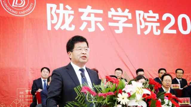 陇东学院院长辛刚国在2020新生开学典礼致辞