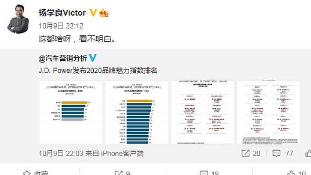 知名机构发布中国汽车魅力榜,吉利高层直呼:看不明白