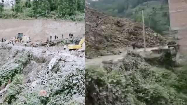 四川宣汉连日降雨致山体滑坡,3大人2小孩被埋遇难