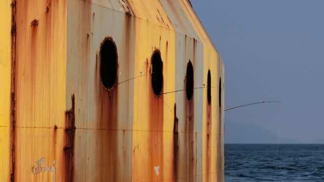 躲在港珠澳大桥桥墩里钓鱼,11名垂钓者被抓