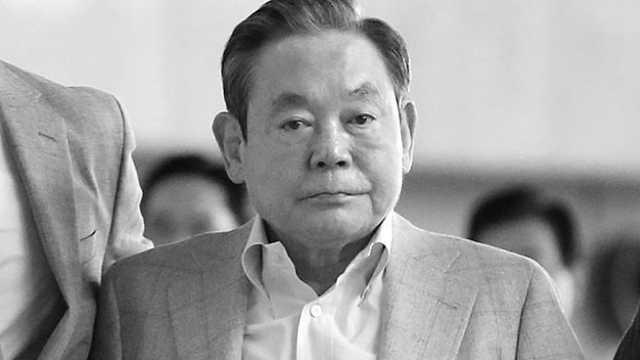 三星集团会长李健熙去世,享年78岁