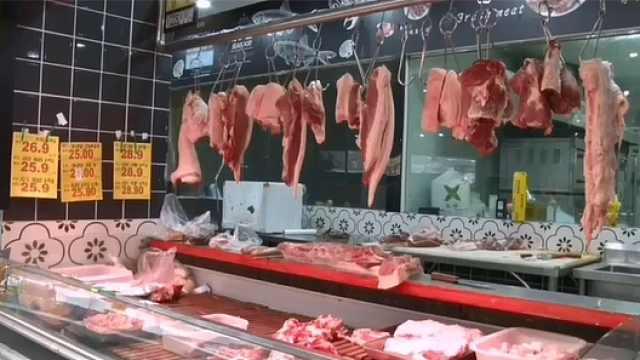 降了!桐梓城区的猪肉价格回落