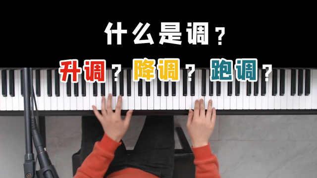 怎么找调?音乐弹唱中的升调、降调、跑调究竟是怎么回事?