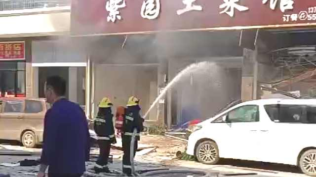 湖南汨罗一餐馆发生爆炸,已致34人受伤
