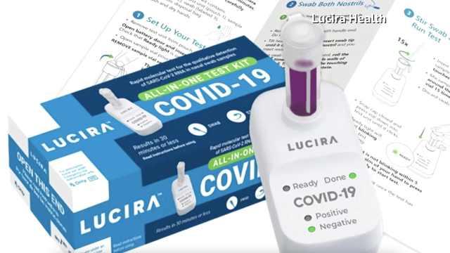 FDA批准首个家用新冠检测工具:售价50美元