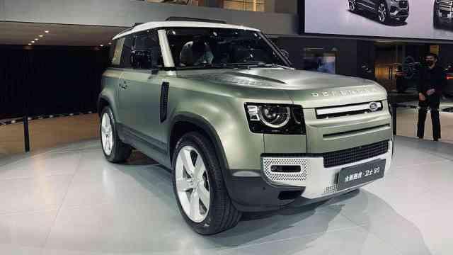两款新车上演亚洲首秀,捷豹路虎都有SUV硬菜