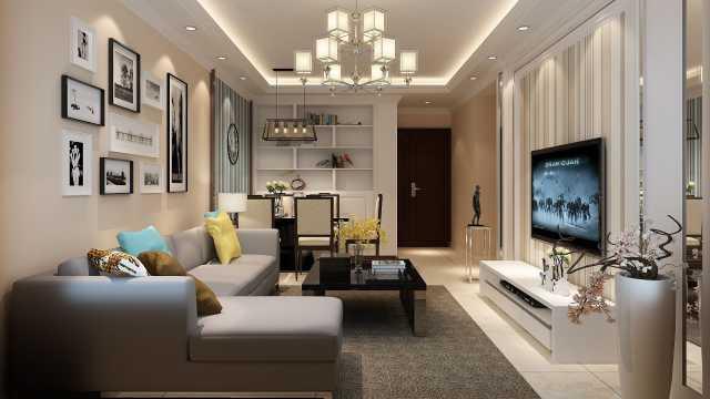 客厅电视背景墙这样做就对了,成本低又耐看,还不过时!