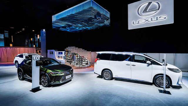 旗舰级豪华轿车新雷克萨斯LS于广州国际车展正式上市