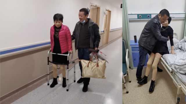 男子与瘫痪女友结婚,照顾28年她终于站起来:病好后补拍结婚照