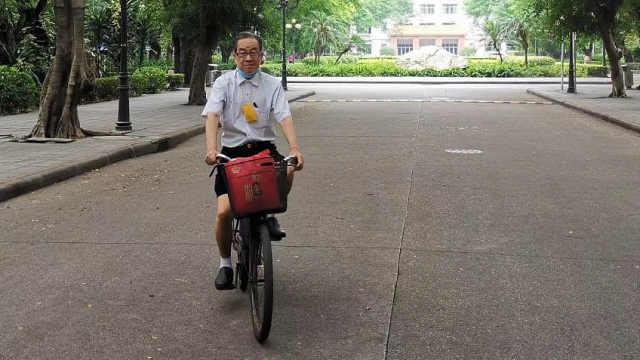 """""""抠门""""教授为贫困生捐款70万:单车骑了26年,衣服穿了18年"""
