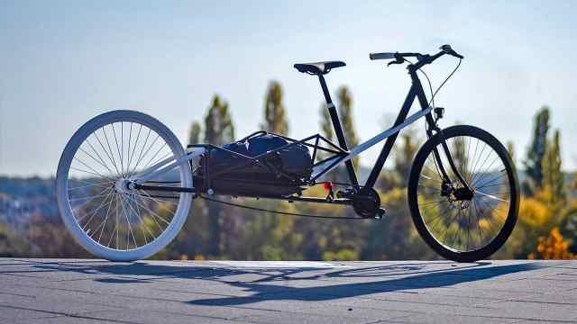 德国造自行车,3秒变身,通勤载货样样在行!