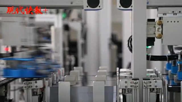宿迁晶硅光伏产业高地崛起,生产车间科技感十足