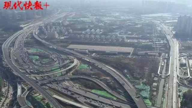 南京绕城公路环线闭合,环线任意两点1小时内可达