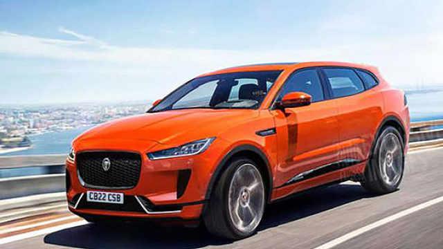 捷豹研发新款纯电SUV,意图对标特斯拉Model X