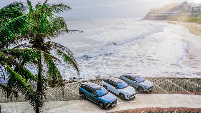 蔚来全新100kWh电池体验:海岛自驾游轻松无压力