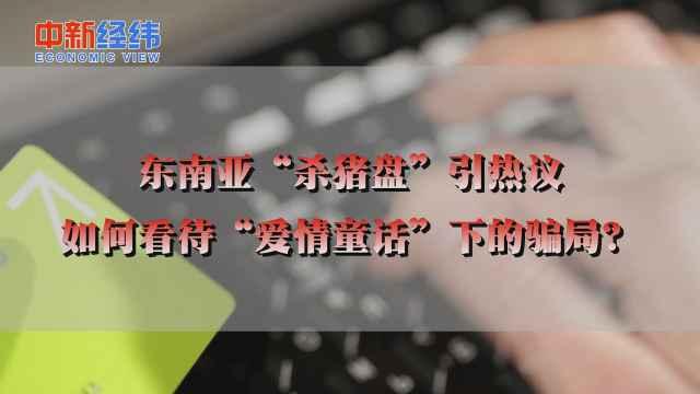 """谨防""""网络爱情杀猪盘"""",石述思:一旦谈钱证明爱情已""""死"""""""