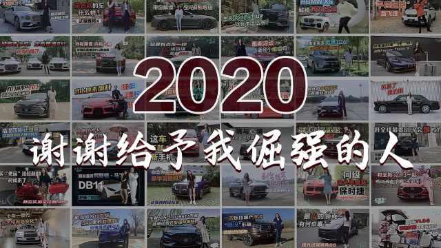 初晓敏:2020 谢谢给予我倔强的人