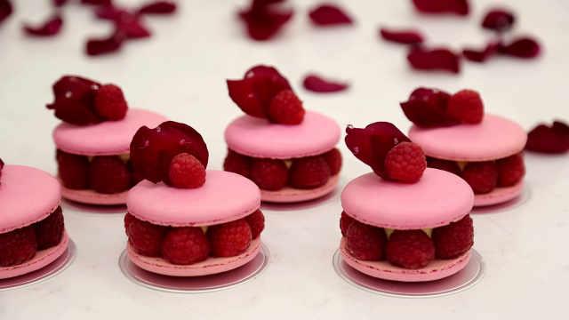 玫瑰荔枝覆盆子马卡龙:为什么经典永流传