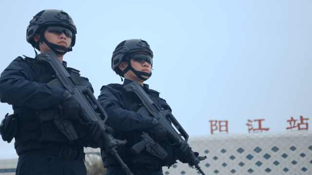 广东阳江公安原创歌曲《守护》首发!为中国人民警察节献礼