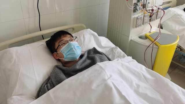 """徐州95后研究生捐髓救人:希望这份""""礼物""""给患者带去希望"""