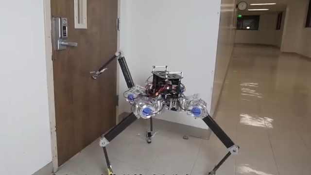 身轻体巧,电机直驱,这款四足机器人比杂技师还灵活!