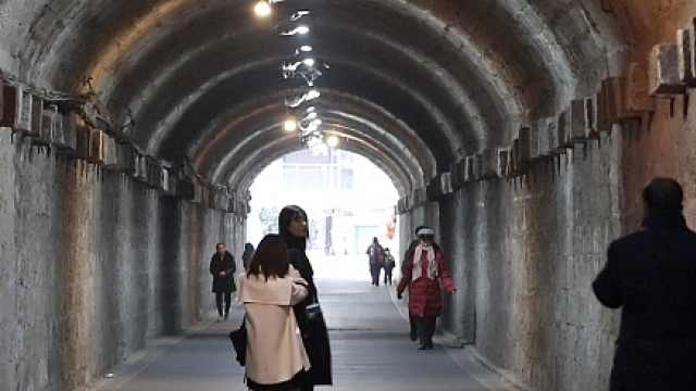 """网红打卡地!重庆这条隧道能""""穿越时空"""""""