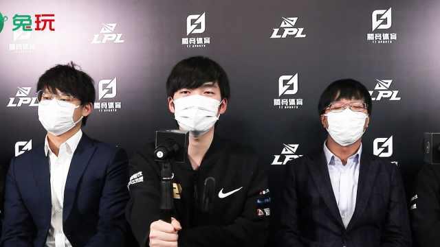 RNG赛后群访-Xiaohu:今天赢下的对手是实力非常强劲的WE