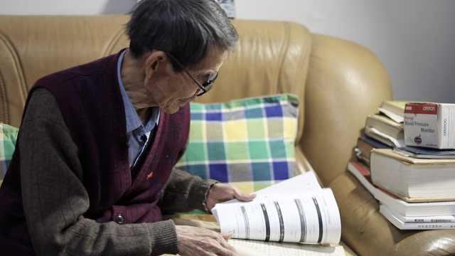 山东88岁老教授每天为女儿布置填空题,这份爱的作业令人泪目
