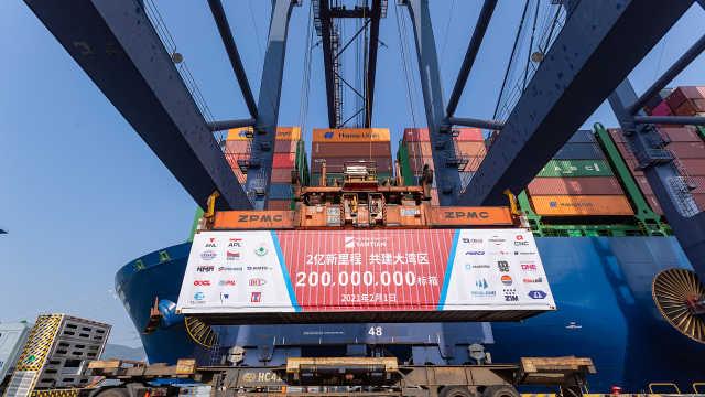 22点微纪录 | 再创世界港口新纪录