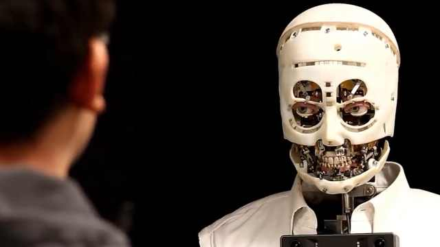 这款机器人居然可以眉目传情?好逼真