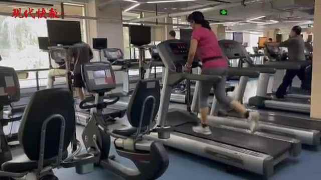 """""""报复式健身"""",节后南京市民开启运动潮"""
