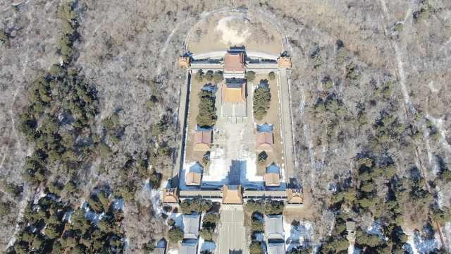 沈阳清昭陵有一块重10万斤功德碑,1810个字记载皇太极一生