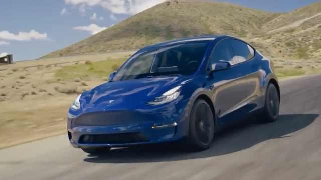1月电动车上险数排行榜出炉,Model Y仅排第五