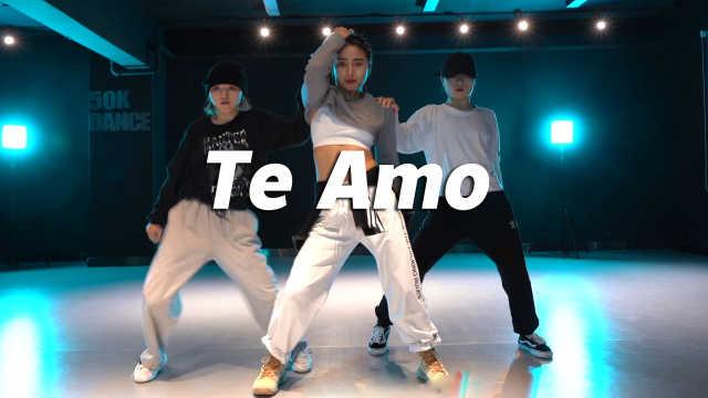 音音编舞Rihanna《Te Amo》,精准卡点