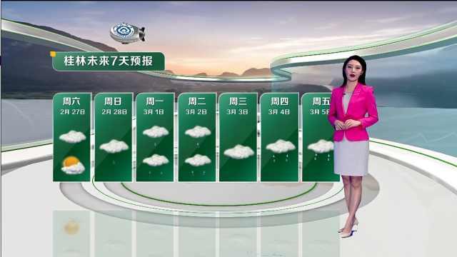 桂林未来7天天气预报