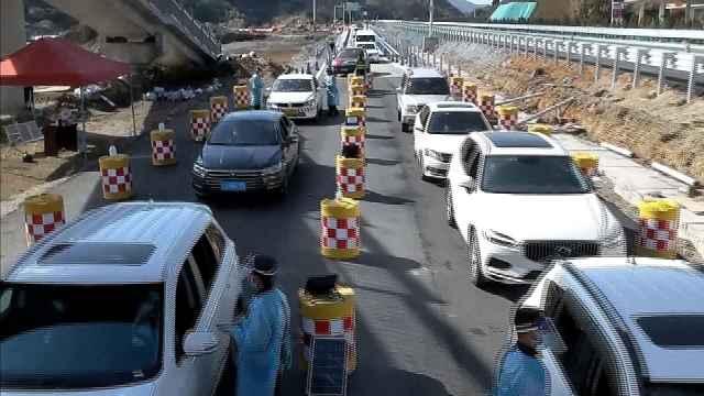 思澜高速公路执勤点上戍边警察的别样元宵节