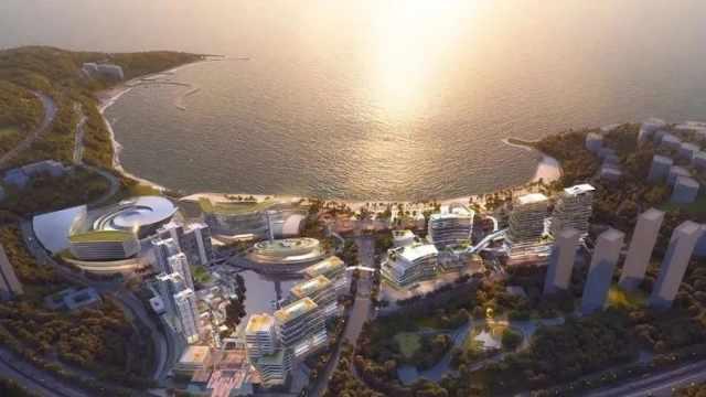 投资150亿,深圳小梅沙片区将打造成世界级滨海旅游度假区