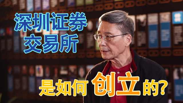 禹国刚:深圳交易所是如何创立的?