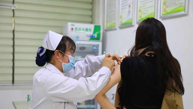 我市第三批HPV疫苗开始接种