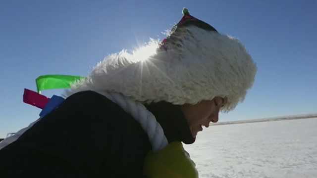 两千米的渔网已经下水,达里诺尔湖今年的冬捕成果如何?