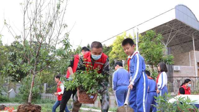 深港携手齐增绿, 中英街社区开展植树节活动