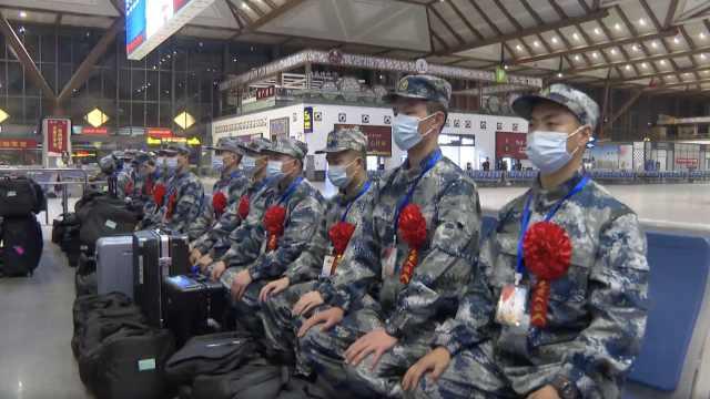苏州860余名新兵今日起出征!