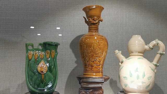 80后美女传承辽瓷技法:曾失传200多年,一年只留一件作品