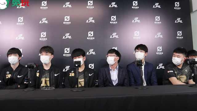 RNG赛后群访 - Xiaohu:其实第二盘送得挺多,不是特别满意吧