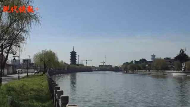 """""""三塔映三湾""""连成线,三颗""""明珠""""串起大运河"""