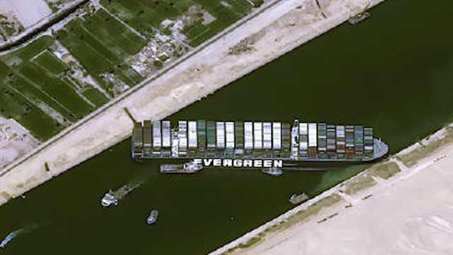 1小时损失4亿美元!巨型货轮堵住苏伊士运河,影响全球油价?