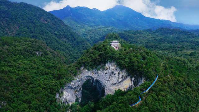 中国最大的天门!就在广东韶关深山中