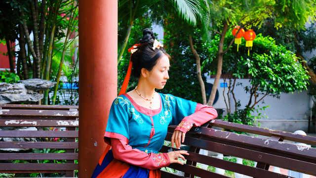广州0元拍照景点,走进小故宫拍汉服照